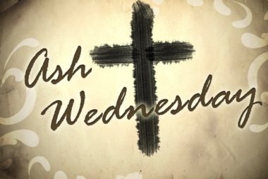 Ash Wednesday Service, February 26, 6:30 pm